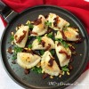 Perogies with Sun Dried Tomatoes and Pine Nuts