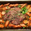 Red Wine Braised Beef with Caramelized Onions