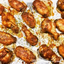 3 Spice Chicken Wings, mc2creativeliving.com