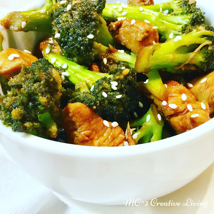 Sweet and Sour Chicken Broccoli, mc2creativeliving.com